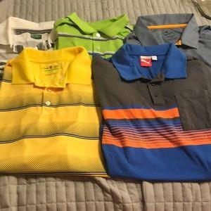 Lot of 5 men's golf shirts wholesale large #4